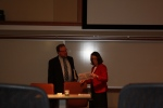 Professor Sean O'Brien, Moderator and Professor Mary Ellen O'Connell, ND ILS Faculty Advisor